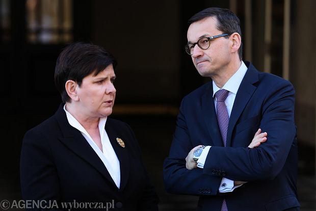 Zdjęcie numer 4 w galerii - Morawiecki na naradzie u Kaczyńskiego. Spotkanie w domu prezesa PiS trwało do późnej nocy