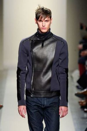 Kurtka z kolekcji Bottega Veneta, moda męska, kurtki