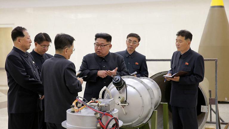 Przywódca Korei Północnej Kim Dżong Un
