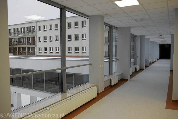 Nowe skrzyd�o Szpitala Dzieci�cego