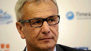 Minister Sportu i Turystyki Andrzej Biernat