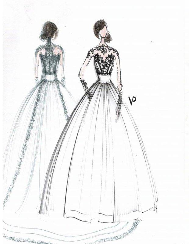 dfce08186b Viola Piekut pokazała projekty dwóch sukien ślubnych Agnieszki Szczurek