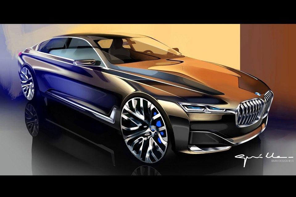 Bmw Powstanie Seria 7 Coupe