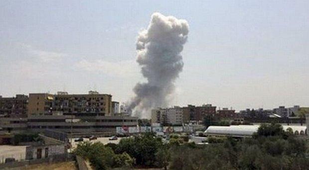 W�ochy: Eksplozja w fabryce fajerwerk�w. Co najmniej siedem os�b nie �yje