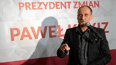 Paweł Kukiz - muzyk, działacz, radny i kandydat na prezydenta