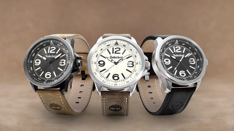 Zegarki z kolekcji Timberland.