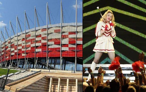 Koncert Madonny na Stadionie Narodowym odbył się 1 sierpnia 2012 roku