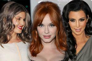 Nowy rok, nowa fryzura: Najpi�kniejsze kolory w�os�w 2012
