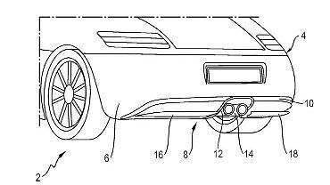 Aktywny dyfuzor Porsche