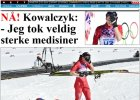Soczi 2014. Norweska prasa po triumfie Kowalczyk: Na silniejszych lekach