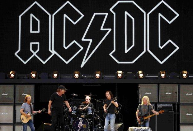 AC/DC podczas koncertu w Sydney