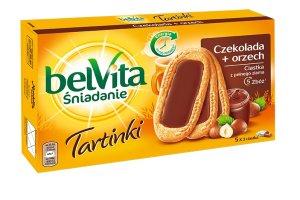 Zacznij wiosn� z nowymi ciastkami belVita Tartinki z kremem czekoladowo - orzechowym