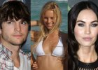 Ashton Kutcher, Karolina Kurkova, Megan Fox