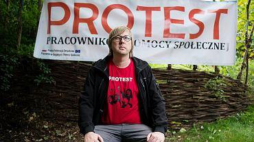 Paweł Maczyński, wiceprzewodniczącym Polskiej Federacji Związkowej Pracowników Socjalnych i Pomocy Społecznej