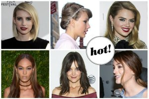 Najpi�kniejsze fryzury i makija�e z ostatnich imprez. Kt�ra gwiazda wyst�pi�a w skomplikowanym koku, a kto totalnie zmieni� styl?
