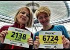 Ania i Magda, 34. Maraton Warszawski.