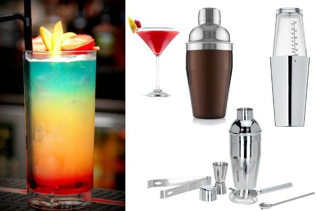 Gadżety do drinków - shakery