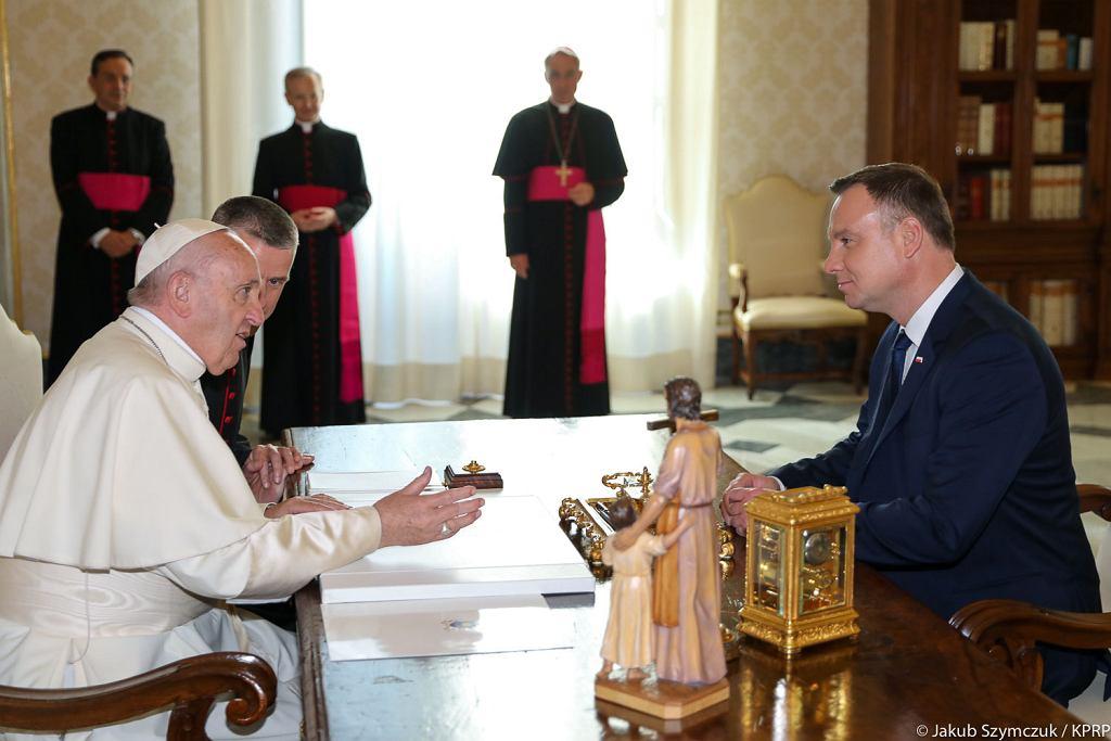 Wizyta pary prezydenckiej w Watykanie