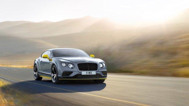 Jeszcze mocniejszy Bentley Continental GT Speed
