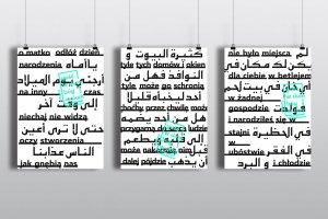 Plakaty o uchod�cach w Du�ym Pokoju. Fina� mi�dzynarodowego konkursu