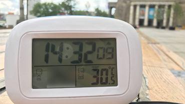 Temperatura w Warszawie