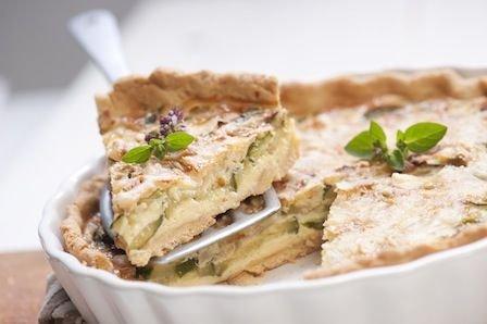 Jesienny przepis na tart� z cukini� i otr�bami owsianymi od Kupca