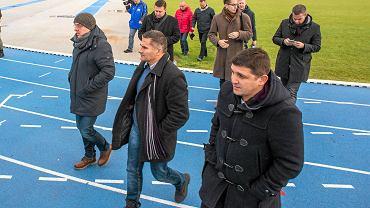 Serbska delegacja wizytuje stadion bydgoskiego Zawiszy