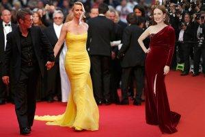 Cannes 2015: Charlize Theron z Seanem Pennem, seksowna Julliane Moore, piękna córka Lenny'ego Kravitza i inne gwiazdy [ZDJĘCIA]