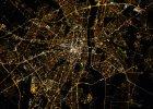 Warszawa noc�. Zobacz fantastyczne zdj�cie wykonane przez za�og� ISS