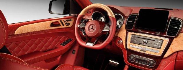 Tuning   Mercedes GLE Coupe Inferno   Przepych po rosyjsku