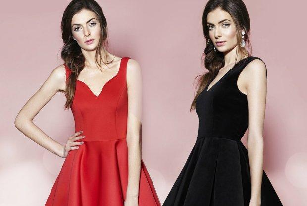 Sukienki na �wi�ta i karnawa� od Bizuu - czerwie�, aksamit i koronki [LOOKBOOK]
