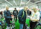 �u�lowe motocykle na wystawie w Media Markt. By�o na co popatrze�