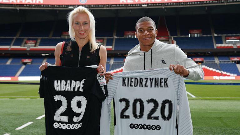 Kiedrzynek i Mbappe