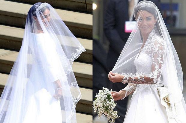 80af248e97 Royal Wedding  Suknie ślubne Meghan i Kate. Która z nich podoba ci się  bardziej