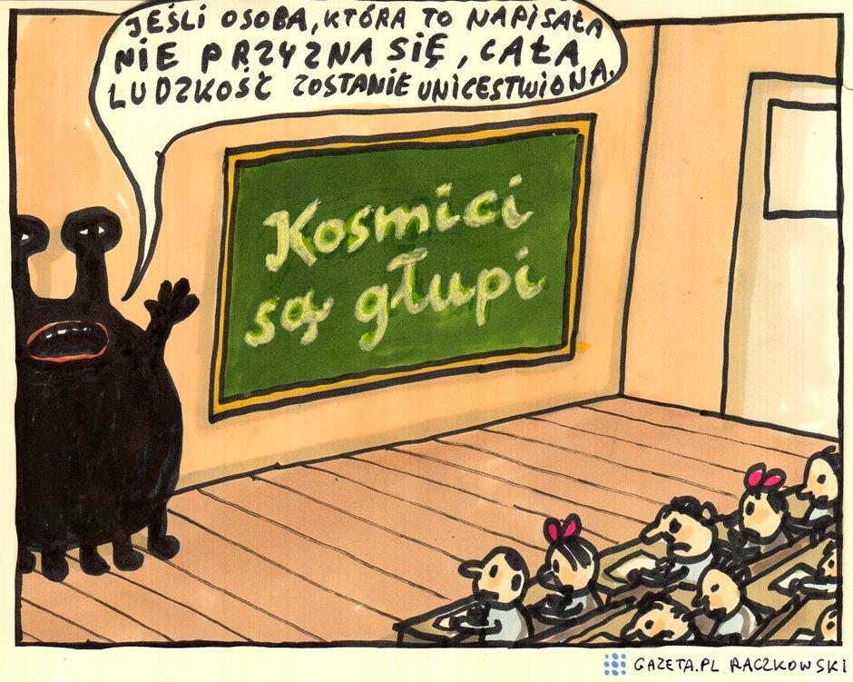 Marek Raczkowski dla Gazeta.pl - 8.09.2014 - rys. Marek Raczkowski