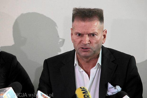 Krzysztof Rutkowski na konferencji ws. zaginięcia Ewy Tylman