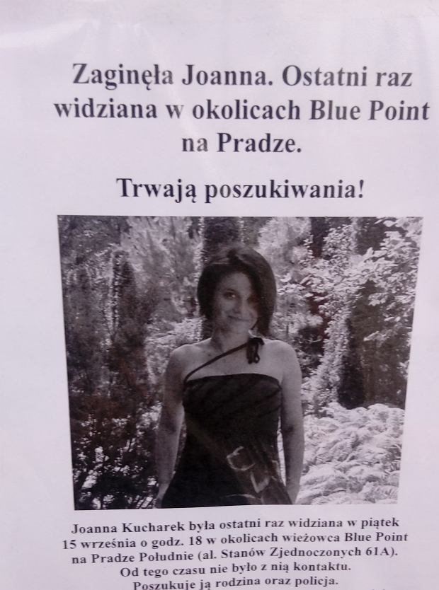 Poszukiwana Joanna Kucharek