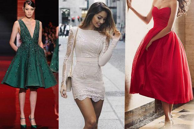 Sukienki idealne na wesele  - trzy modne kolory