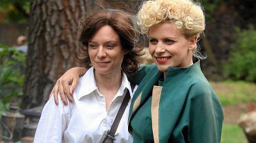 Magdalena Boczarska (z lewej) gra główną rolę w filmie 'Sztuka kochania' w reż. Marysi Sadowskiej (z prawej)