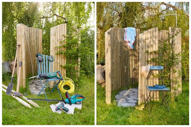 Prysznic ogrodowy - zrób to sam