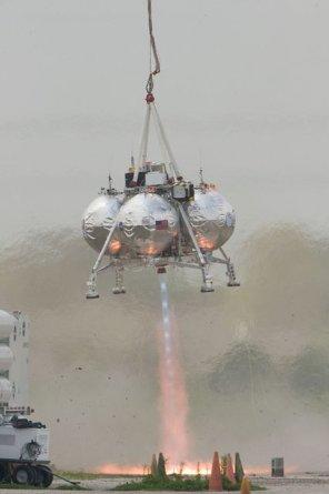 Porażka NASA: wybuchł prototyp księżycowego lądownika