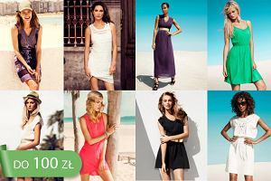 Sukienki H&M na wiosn� i lato 2013 do 100 z�