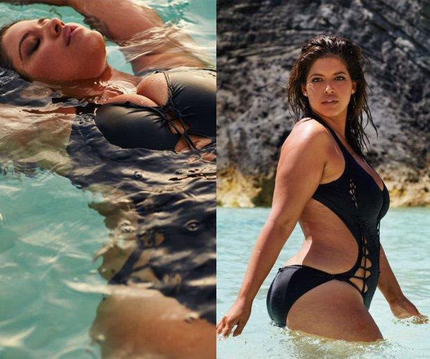 Denise Bidot w kampanii marki swimsuitsforall
