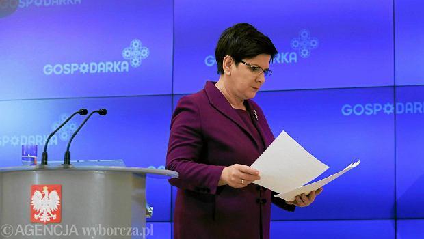 Beata Szydło: wniosek o referendum ws. reformy edukacji wpłynął zbyt późno, reforma została już wdrożona