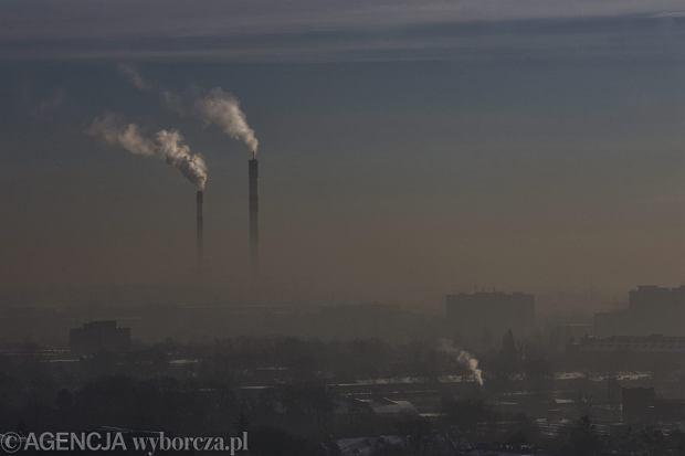 Smog nad Łodzią, wrzesień 2017