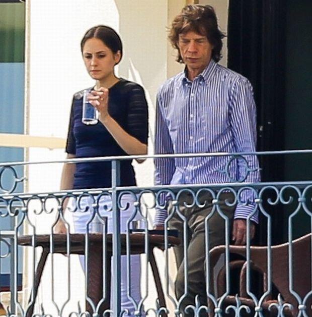 Melanie Hammrick, Mick Jagger