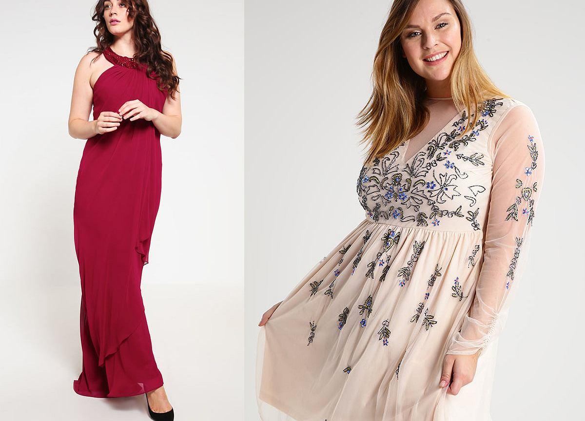 0e9d10586836 Sukienka na wesele dla puszystych - trzy gotowe stylizacje  Moda plus size