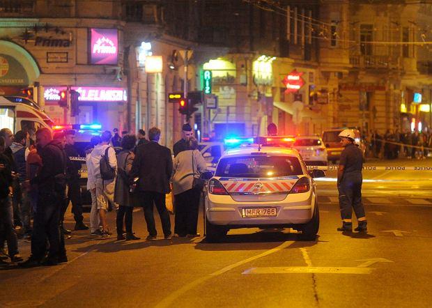 """Węgierska policja: wybuch w Budapeszcie to zamach. """"Celem byli policjanci"""""""
