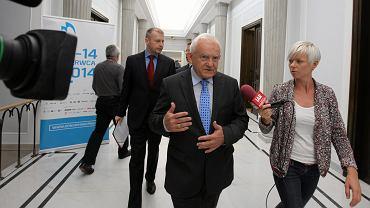 Leszek Miller po ogłoszeniu wyroku przez Trybunał w Strasburgu