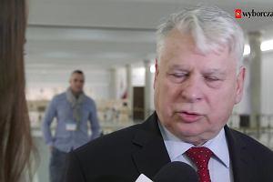 Borusewicz o zawieszeniu go przez marsza�ka Senatu: Czuj� si� odm�odzony o 35 lat, bo us�ysza�em, �e jestem gro�ny, jak w PRL-u.